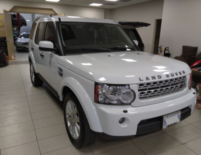2012 Land Rover LR4 Detail