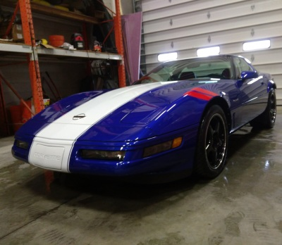 1996 Chevrolet Corvette Grand Sport Paint Correction